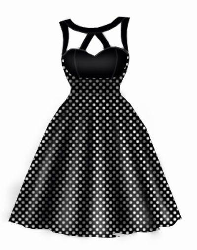 Rockabilly dress by blueberryhillfashions.com