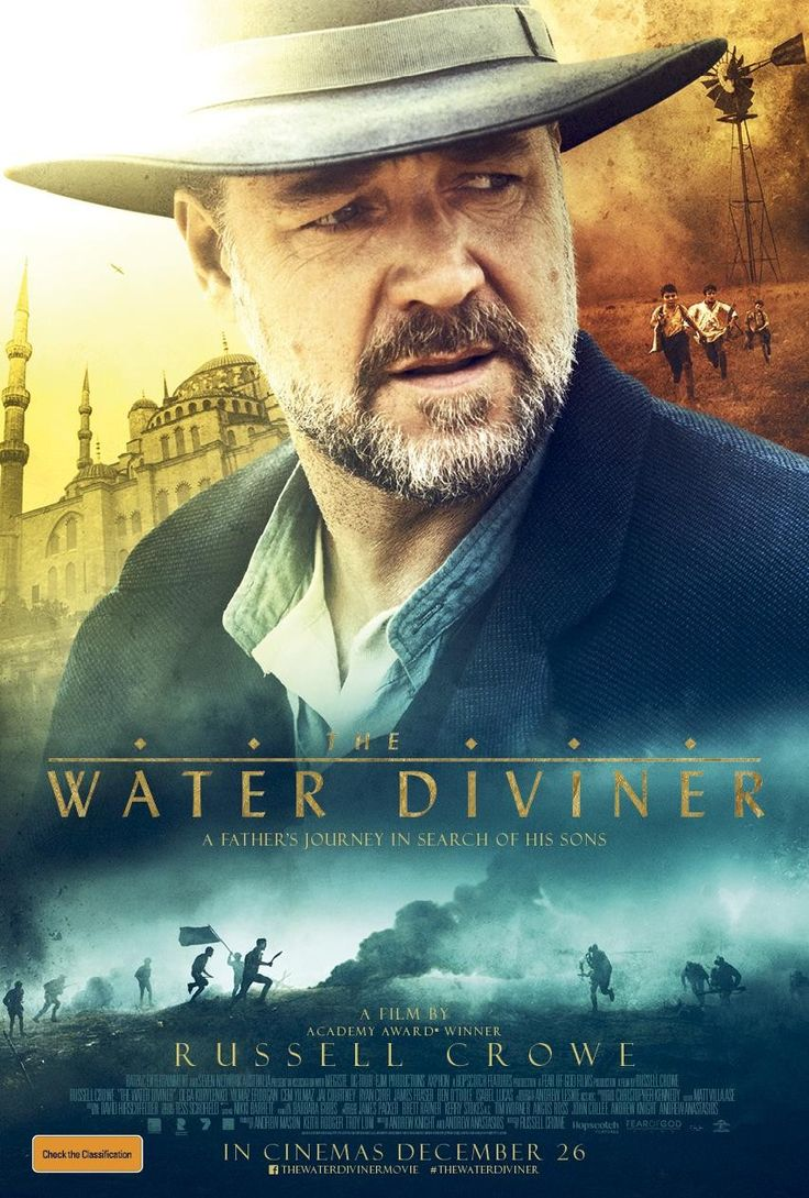 The Water Diviner - great epic film full of drama, passion and a reminder of the horrors of war especially bloody and relentless trench warfare! Great acting abounds and the film is exceptionally well crafted with flashbacks that add meaning to the story in peace meal fashion quite effectively! Really get a sense of the brutality of early 20th century warfare and the beauty of  Instabul!