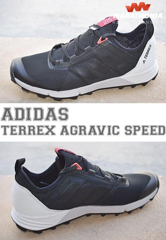 El calzado ADIDAS TERREX AGRAVIC SPEED para mujer te mantiene veloz y estable en terrenos montañosos. Suela de Caucho Continental y media suela de EVA reforzada-Para pisada neutra.-Pensada para ritmos rápidos en carrera y poco peso.Para más información haz click en la foto. #zapatillas #calzado #trail #montaña #running #mujer #ADIDAS #terrex #agravic #speed #shoes #marathonia #todoterreno