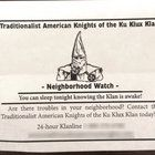 KKK Claims Camp Hill Residents Request Watch, Fearing Harrisburg Crime