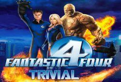 ¿Cuanto sabes de los 4 Fantásticos?. En este juego de Trivial puedes ponerte a prueba y demostrar todo lo que sabes de los 4 Fantásticos. Te harán preguntas y usted debe elegir una de las cuatro posibles respuestas. Al final del juego sabrás tu resultado y las preguntas que acertaste. ¡Buena suerte!.