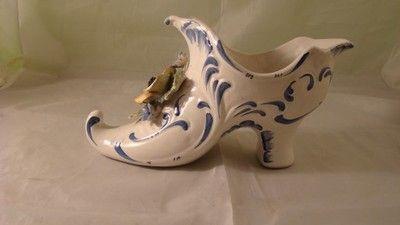 Żardiniera w kształcie buta BASSANO 25 cm