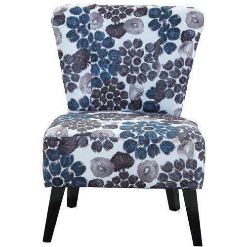 Found it at Wayfair - Emma Floral Slipper Chair