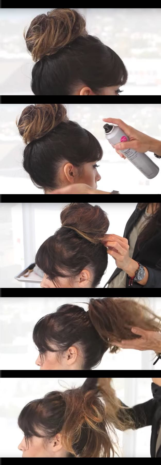 Quick and Easy Updo Hairstyles - How to Do a Quick and Easy Updo for Parties - Hair Hacks And Popular Haircuts For The Lazy Girl. Hairdos and Up Dos Including The Half Up, Chignons, Twists, Beauty Tips, and DIY Tutorial Videos For Bangs, Products, Curls, The Top Knot, Coiffures, and Shoulder Length Hair - https://thegoddess.com/quick-easy-updo-hairstyles