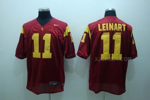 http://www.xjersey.com/usc-trojans-11-leinart-red-jerseys.html USC TROJANS 11 LEINART RED JERSEYS Only $37.00 , Free Shipping!