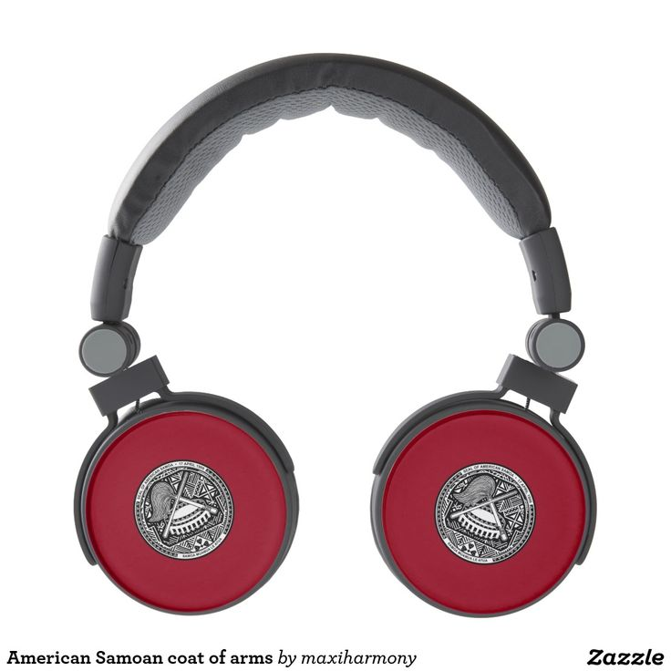American Samoan coat of arms Headphones