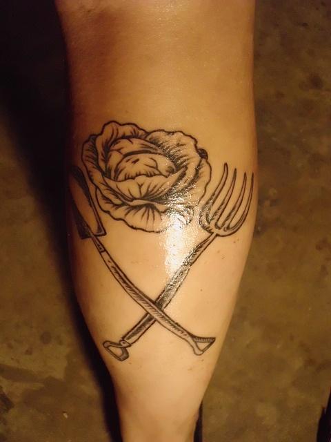 Garden Tattoo by Reclamation Dept, via Flickr