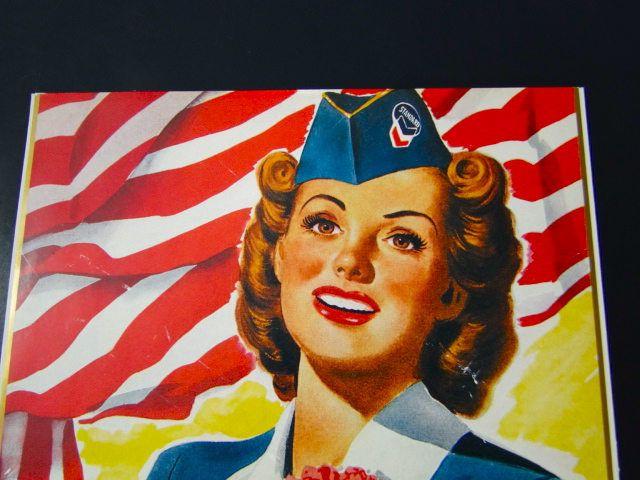 Standard Oil Advertisement 1940's Military War Bonds Patriotic WWII by SueEllensFlair on Etsy