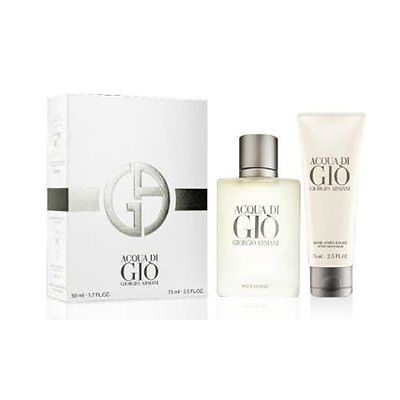 #Giorgio armani #acqua di gio mens gift set 50ml edt & free 75ml #aftershave balm,  View more on the LINK: 	http://www.zeppy.io/product/gb/2/162079309679/