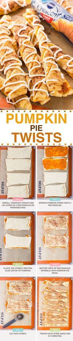 Pumpkin Pie Twists