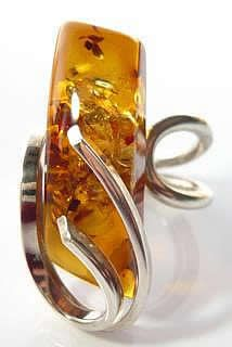 amber ring It's got the wow factor.