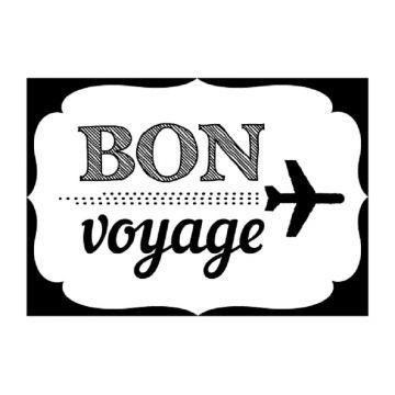 Tampon bois 'Artemio' Bon Voyage