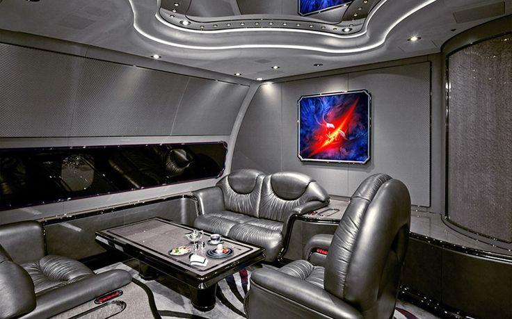 interieurs de jets prives incroyables 6   Intérieurs de jets privés incroyables   photo Nick Gleis luxe jet prive image design avion