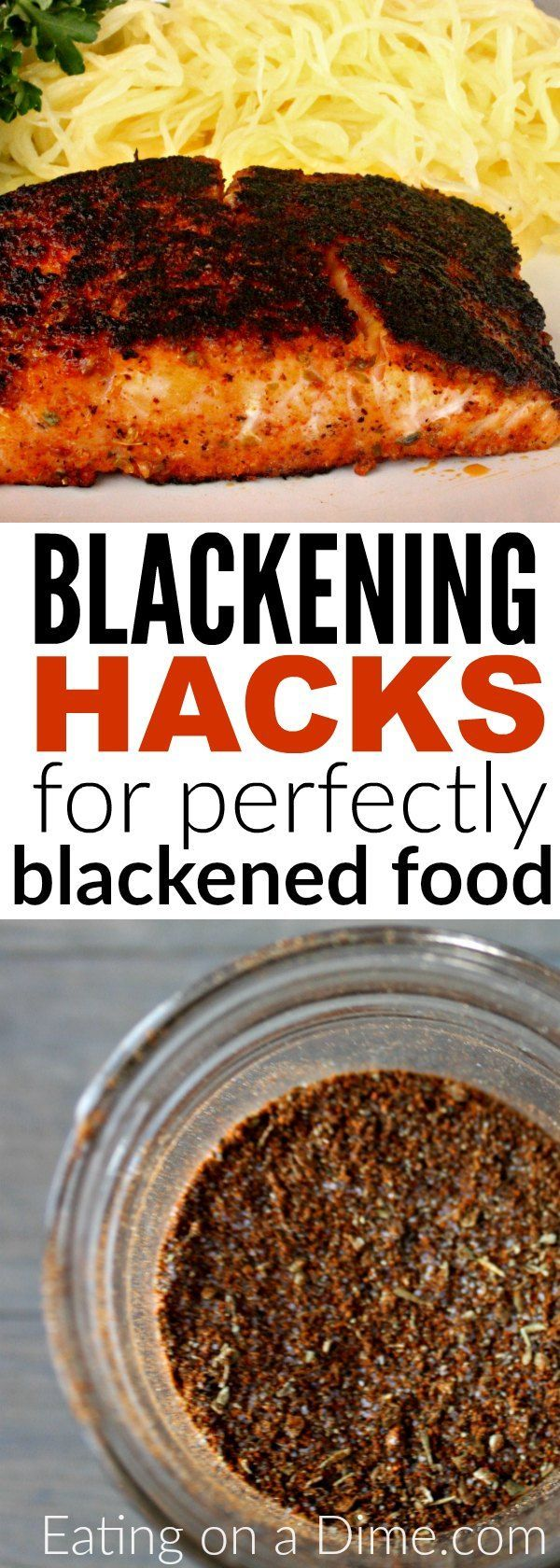 Forget buying blackened spices when you can make this easy Homemade Blackened Seasoning Recipe at home for a lot less. Enjoy Blackened salmon, blackened tilapia, and more with this easy blackened seasoning. Plus 5 easy tips for perfectly blackened food!