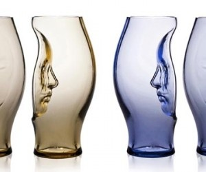 'Murana' glass vases by Fabio NovembreHand Blown Glass, Face Vases, Hands Blown Glasses, Fabio Novembre, Murano Glasses, Beautiful Glasses, Glasses Art, Glasses Vases, Art Glasses