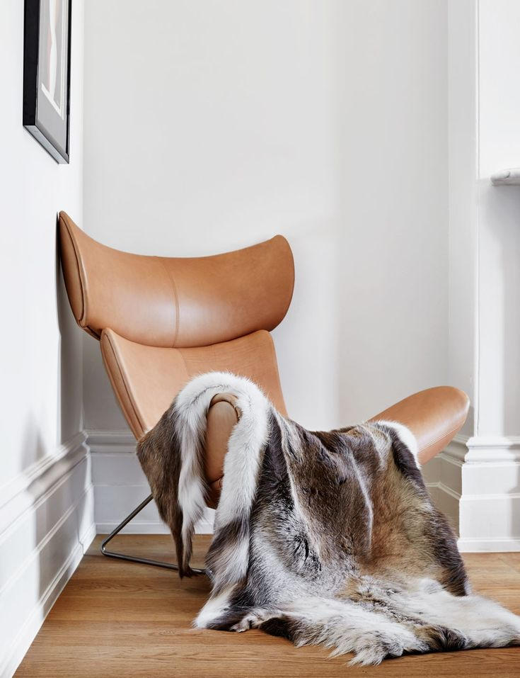 Abode Living - Bedroom Accessories - Scandinavian Reindeer Hide  - Abode Living