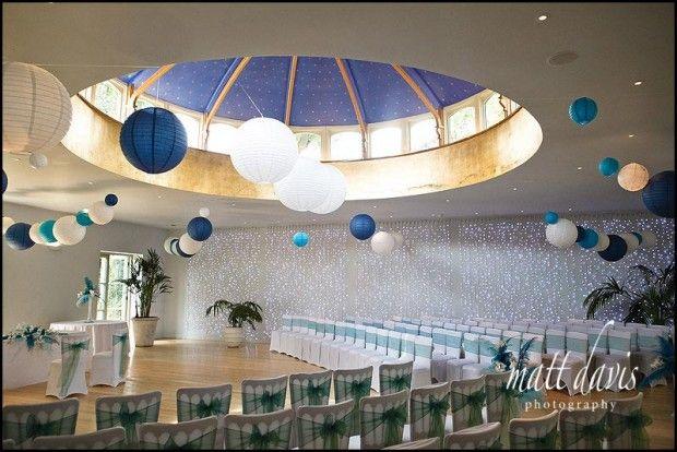 Inside wedding ceremony at Matara. http://www.mattdavisphotography.co.uk/wedding-venues/gloucestershire/matara/