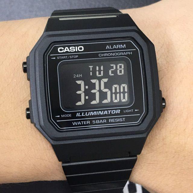 f6b0e30c027 Relógio Casio Unissex Vintage B650WB-1BDF