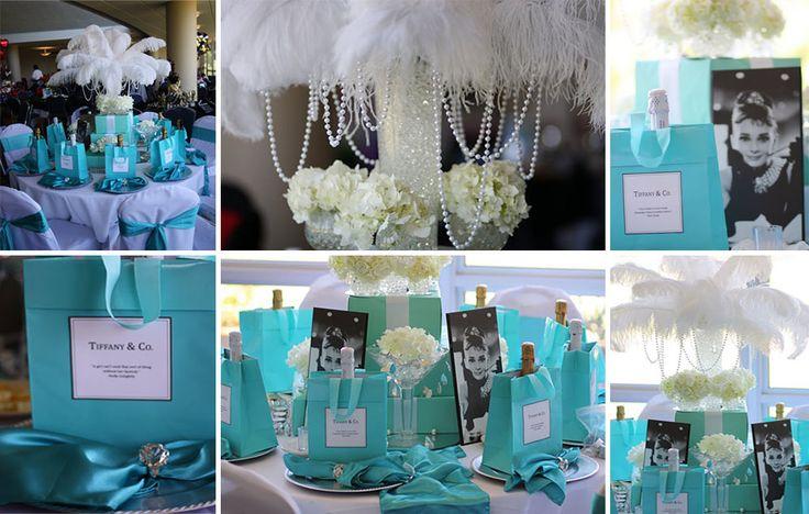 Festa De 15 Anos Ideas: Inspiração TOP: Festa De 15 Anos Azul Tiffany