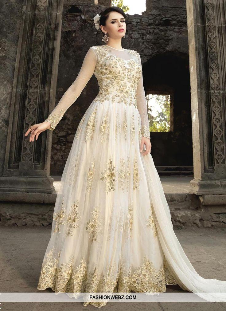 Enchanting  Net Floor Length Designer Salwar Suit