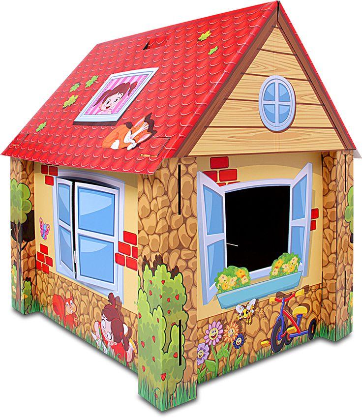 Juego de encastre de cartón. http://merengue.com.ar