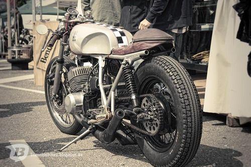 re-pin this! kawasaki h1 500 cafe racerkrautmotors