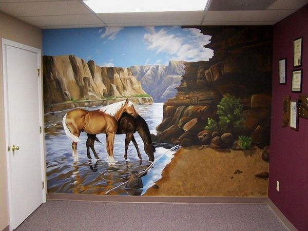 Remodeling your Home wuth Horse Wall Murals
