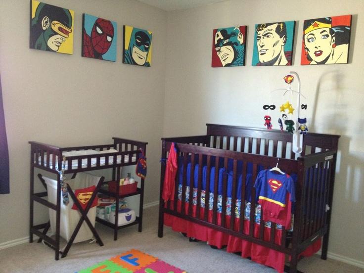 58 best superhero themed nursery images on pinterest