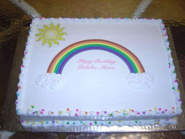 Decorated Sheet Cakes Pinterest