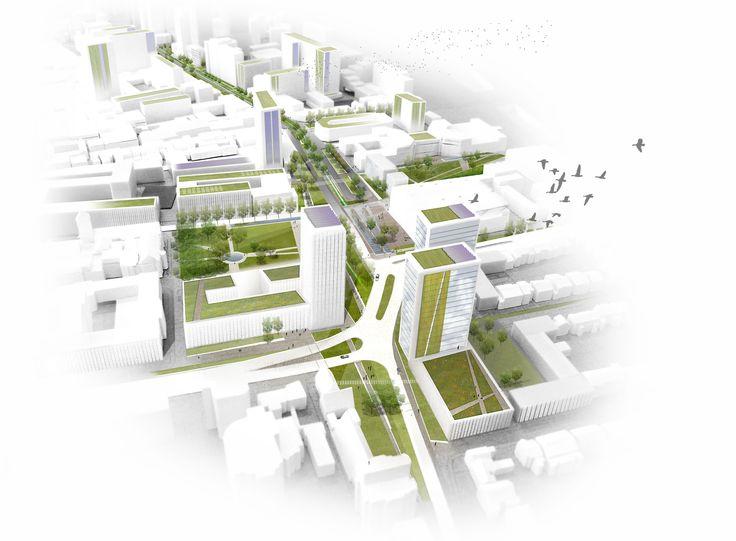 Wellesley Road and Park Lane | OKRA Landschapsarchitecten