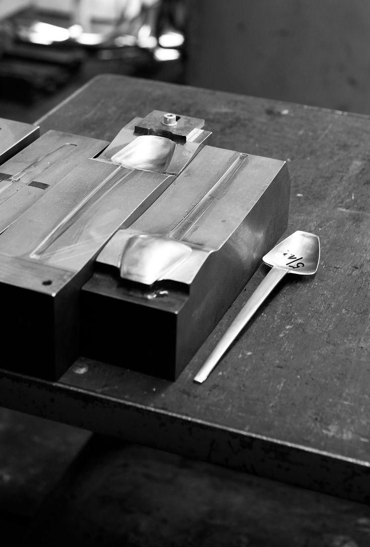 thomas feichtner / making of fina stainless steel flatware / carl mertens / 2011
