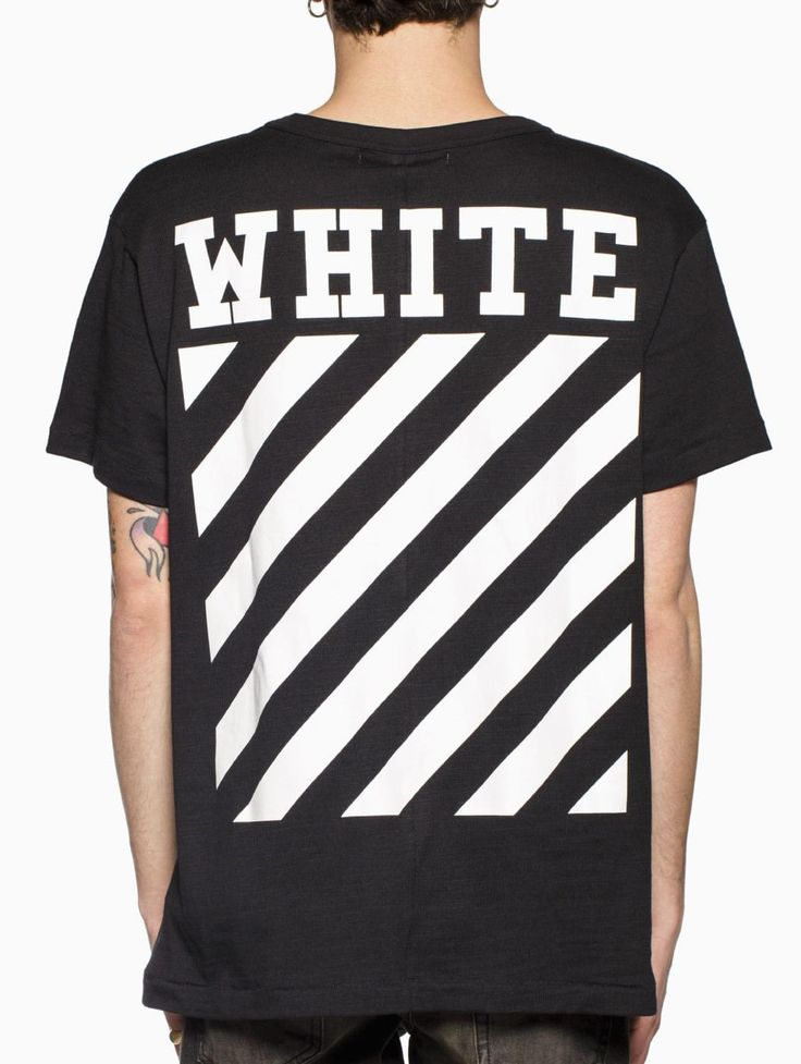 Dmart7deal seam off white Virgil Abloh classic Carry Over letter basic stripe print cotton t-shirt tee