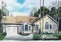 Plan de Maison unifamiliale W2230 - Vue avant
