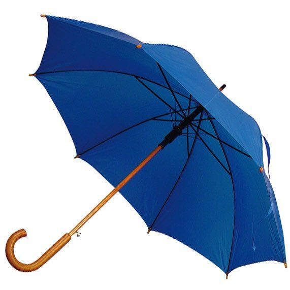 Automatic Umbrella with curved handle(25pc)