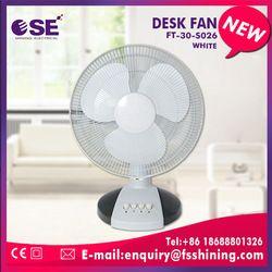 "electrical appliances 12"" PP/AS blade ultra quiet small desk fan"