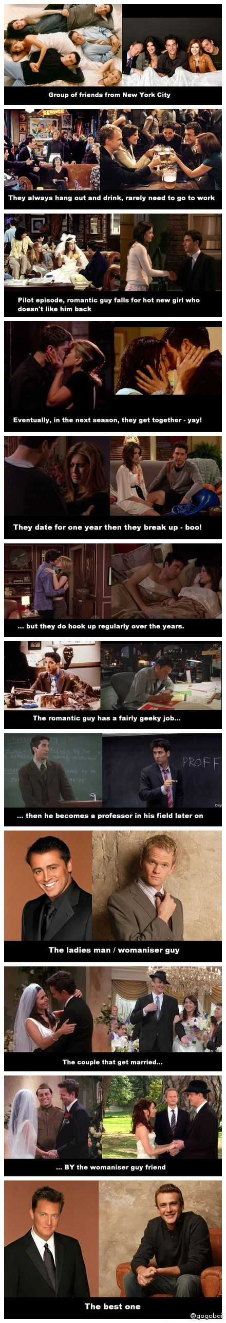 I have no where to put this... so it's going in here. No wonder I love How I Met Your Mother...