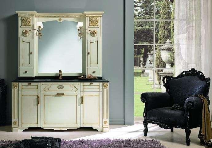 Risultati immagini per mobile bagno marmo classico bianco