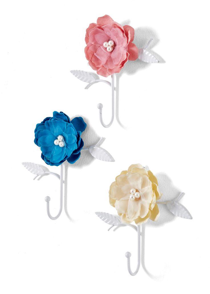 Muurhaakjes «Flower» so romantic
