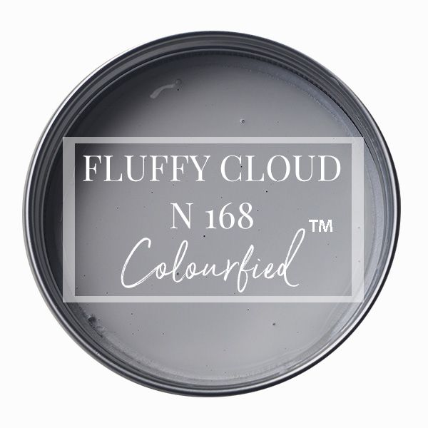 Colourfied's new colour - Fluffy Cloud