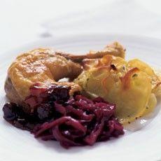Delia Smith's Potatoes Boulangères with Sage