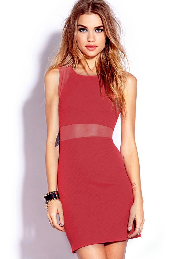Be Seen Bodycon Dress   FOREVER21 Valentines day outfit inspo! #F21Crush #ValentinesDay #OOTN