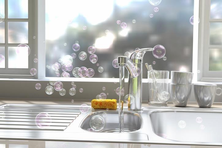Dans une cuisine, on pense à nettoyer les&......