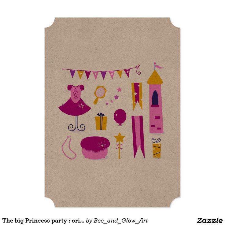 The big Princess party : original Postcard