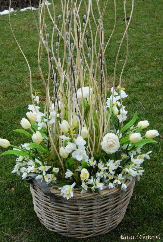 Velká jarní dekorace - rezervace ! - Prodané dekorace - Prodané dekorace…