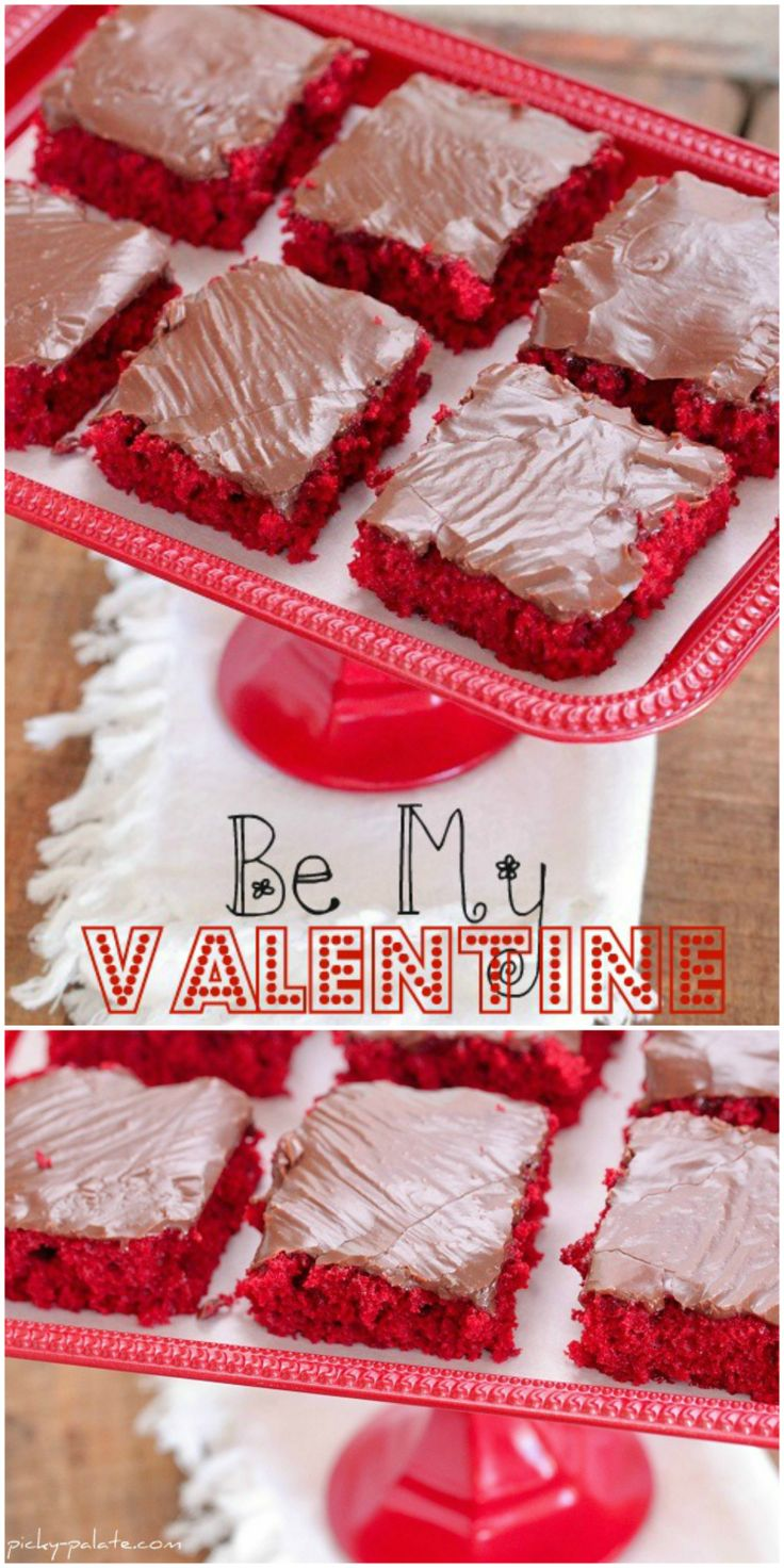 Red Velvet Sheet Cake with Nutella Fudge Icing!
