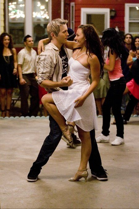 Absolutely love this dance scene from Step Up 2! Love her dress as well!!!