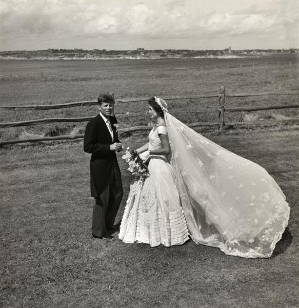On September 12, 1953, U.S. Senator John F. Kennedy marries Jacqueline Lee Bouvier.