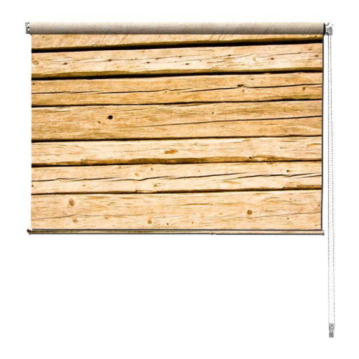 Rolgordijn Grenen planken | De rolgordijnen van YouPri zijn iets heel bijzonders! Maak keuze uit een verduisterend of een lichtdoorlatend rolgordijn. Inclusief ophangmechanisme voor wand of plafond! #rolgordijn #gordijn #lichtdoorlatend #verduisterend #goedkoop #voordelig #polyester #hout #houten #planken #geel