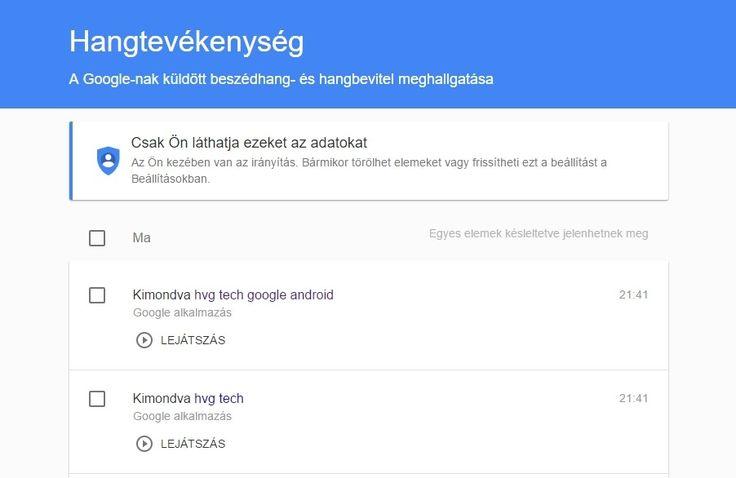 Szerencsére kikapcsolható a Google kereső minden szavunkat rögzítő és tároló funkciója, és az eddig készített hangfájlokat is törölhetjük. Megmutatjuk, hogyan.