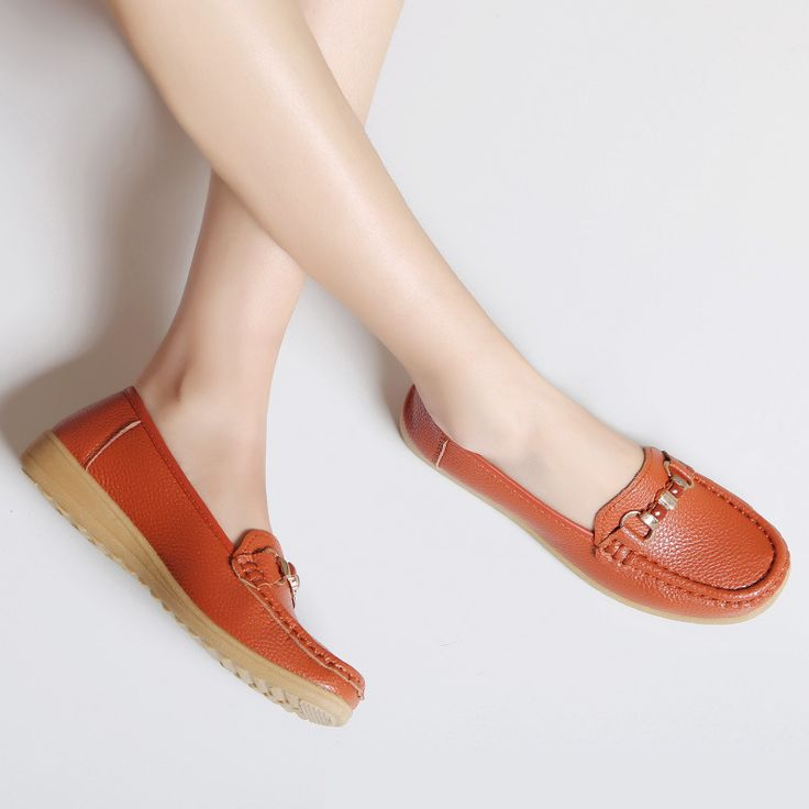 Spring and summer casual shoes mother middle-aged non-slip soft-soled shoes flat shoes ladies' shoes Peas